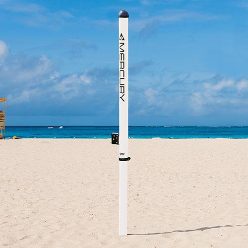 Mercury™ Aluminum Beach Volleyball Uprights