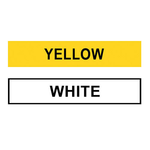 Powder Coat Color (White or Yellow)