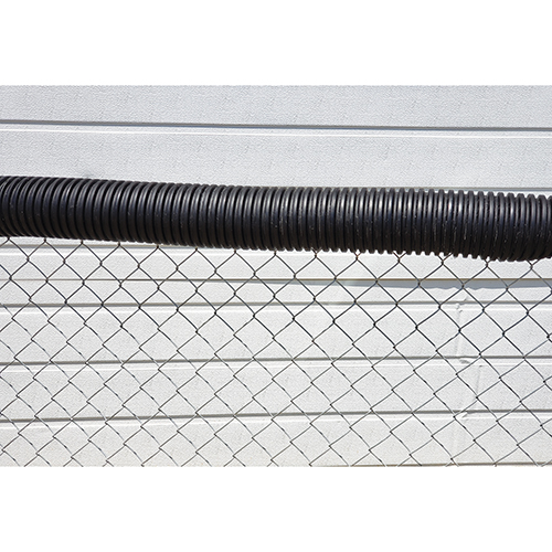 Poly-Cap Fence Top Protection (100′ – Black)