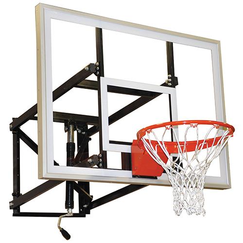 Indoor/Outdoor Adjustable Wall-Mounted Shooting Station (Acrylic – 60″)